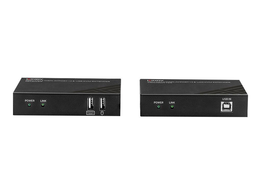 Lindy Cat.6 DisplayPort 1.2 & USB KVM Extender
