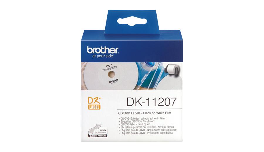 Brother CD-/DVD-Etiketten Etiketten / Beschriftungsbänder