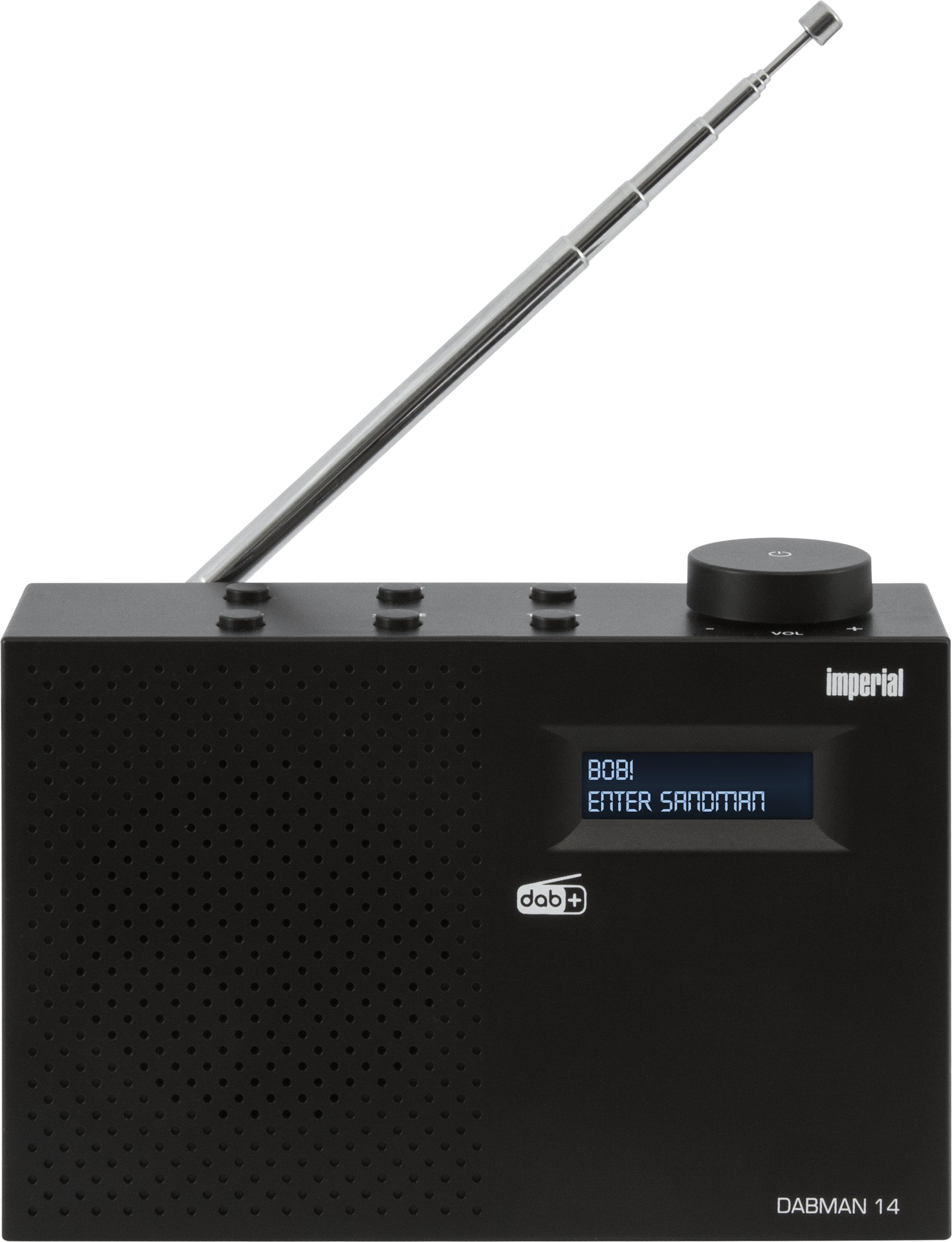 Telestar DABMAN 14 - Tragbar - Digital - DAB+,FM - 87,5 - 108 MHz - 174 - 240 MHz - 1 W