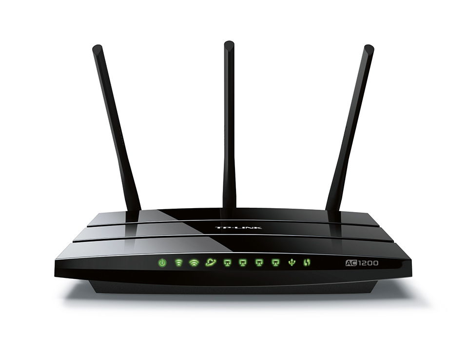 TP-LINK Archer C1200 - Wireless Router - 4-Port-Switch