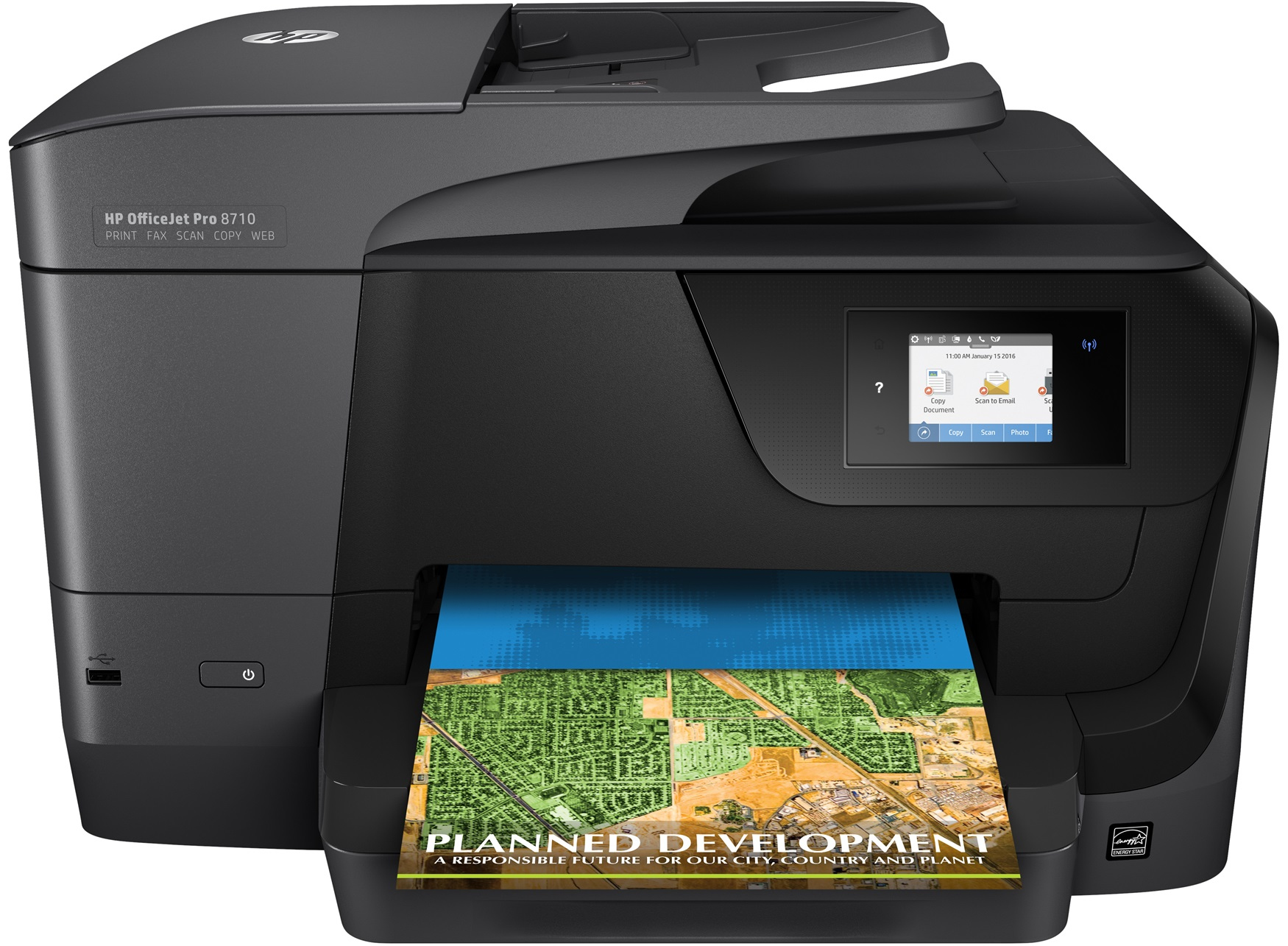 HP OfficeJet Pro 8710 e-All-in-One, Tinte, MFP, A4