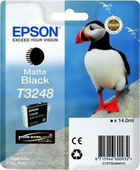 Epson T3248 - 14 ml - mattschwarz