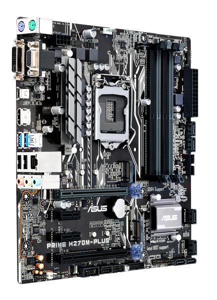 ASUS PRIME H270M-PLUS Intel H270 LGA 1151 (Socket H4) Micro ATX Mainboard