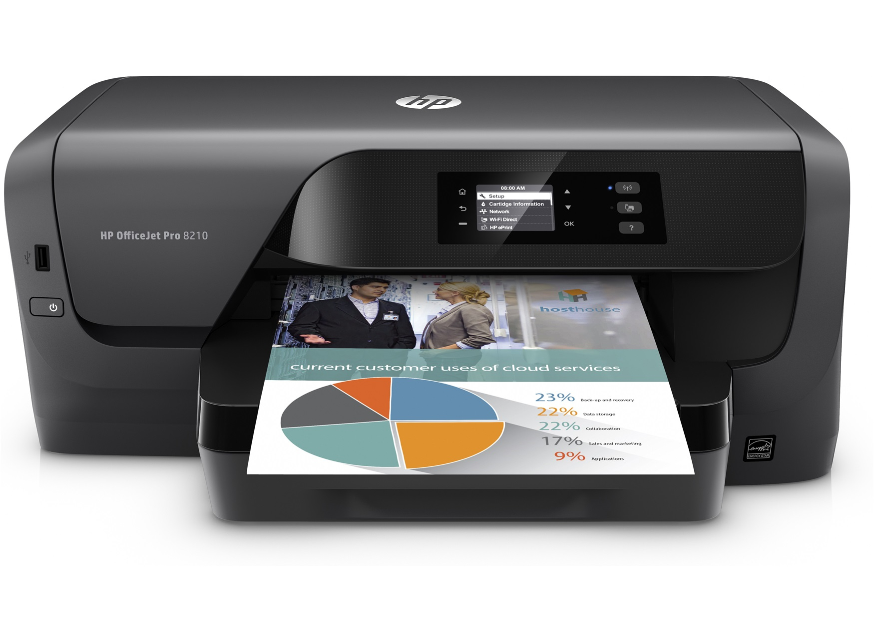 HP Officejet Pro 8 - Drucker