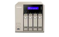 QNAP TVS-463 - 16 TB - Festplatte - Festplatte - SSD - Serial ATA II,Serial ATA III - 4000 GB - 2.5/3.5 Zoll