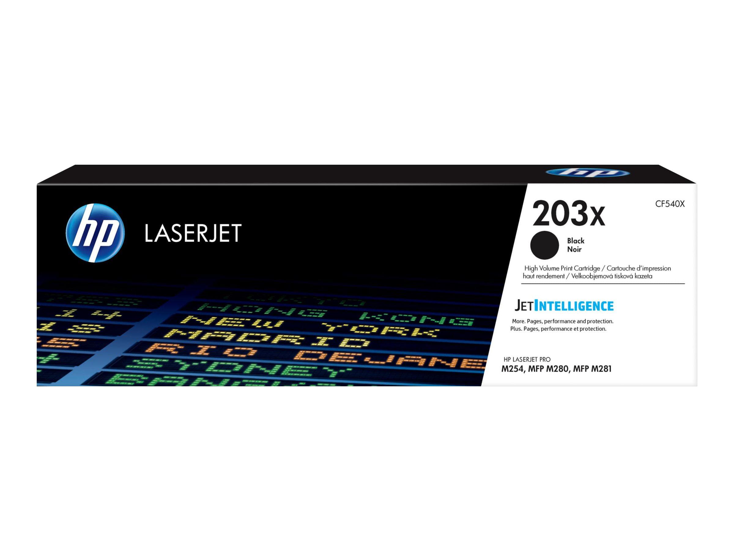 HP Toner black Nr. 203X (CF540X) ca. 3.200 Seiten