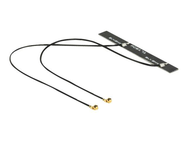 Delock WLAN Doppelantenne - Antenne - Wi-Fi