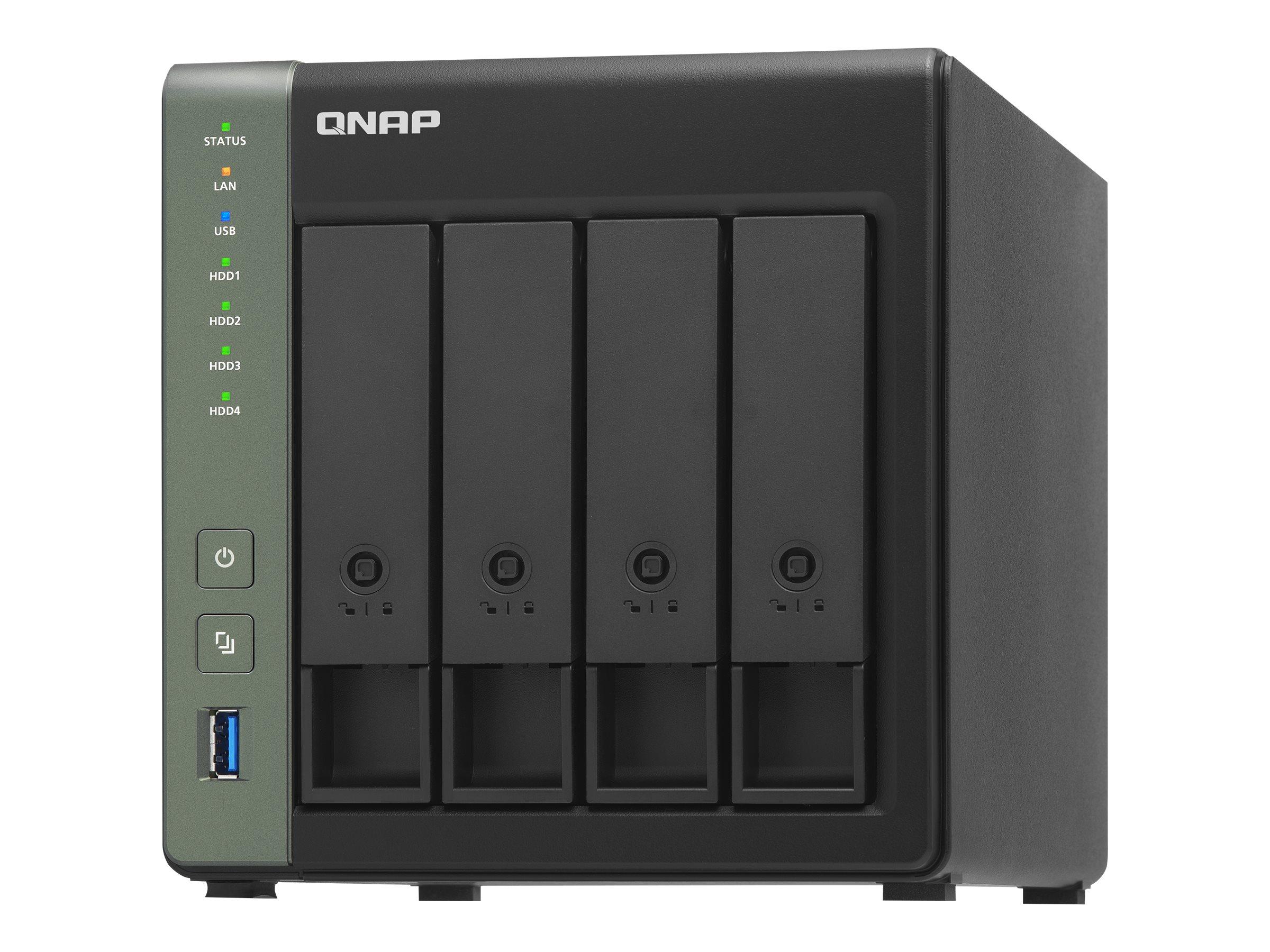 QNAP TS-431K - NAS-Server - 4 Schächte - SATA 6Gb/s