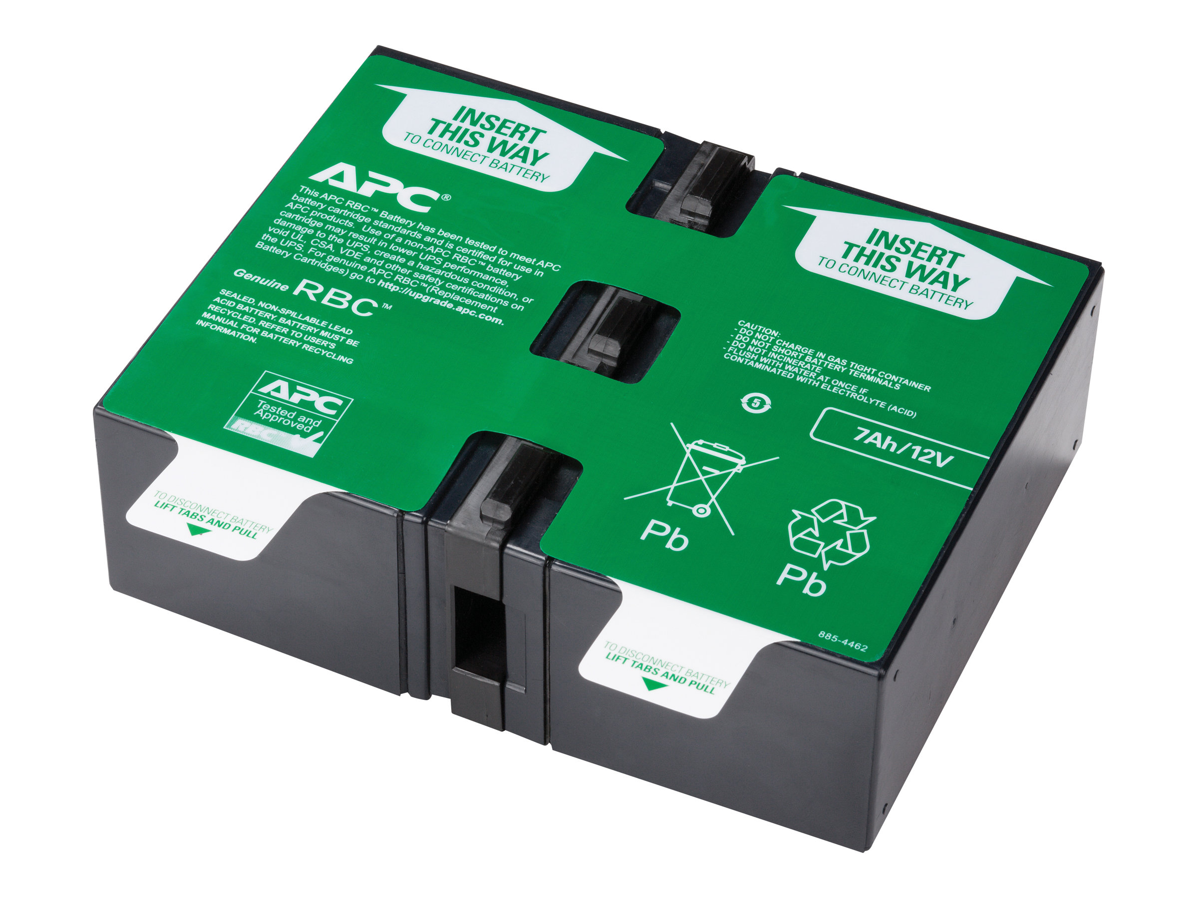 APC Replacement Battery Cartridge #123 - USV-Akku