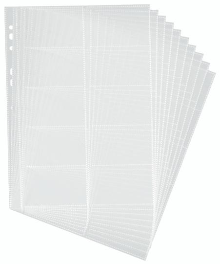 Durable 2389-19 - Transparent - Polypropylen (PP) - 20 Karten - A4 - 54 x 90 mm