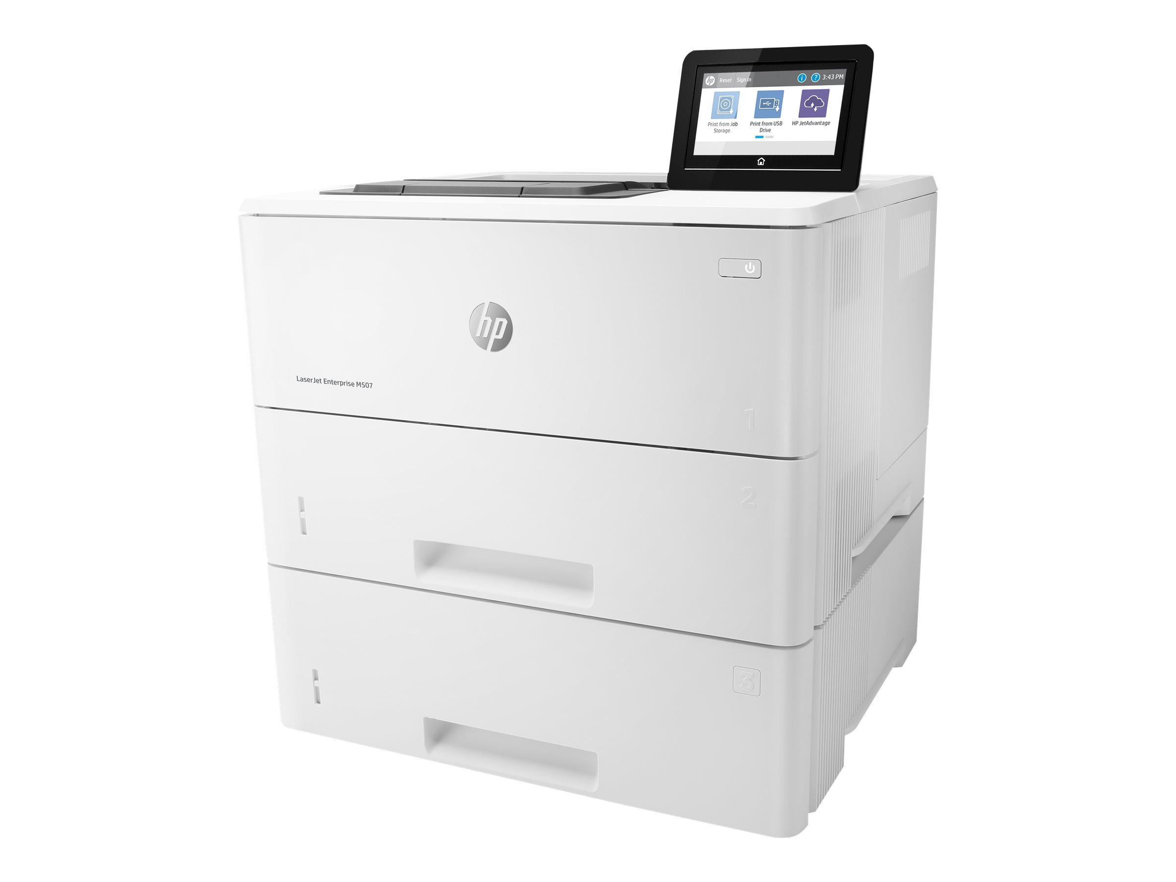 HP LaserJet Enterprise M507x, S/W Laser, A4