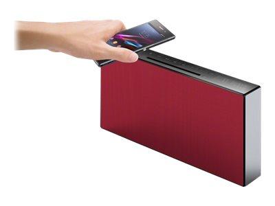 Sony CMT-X3CD - Audiosystem - Rot