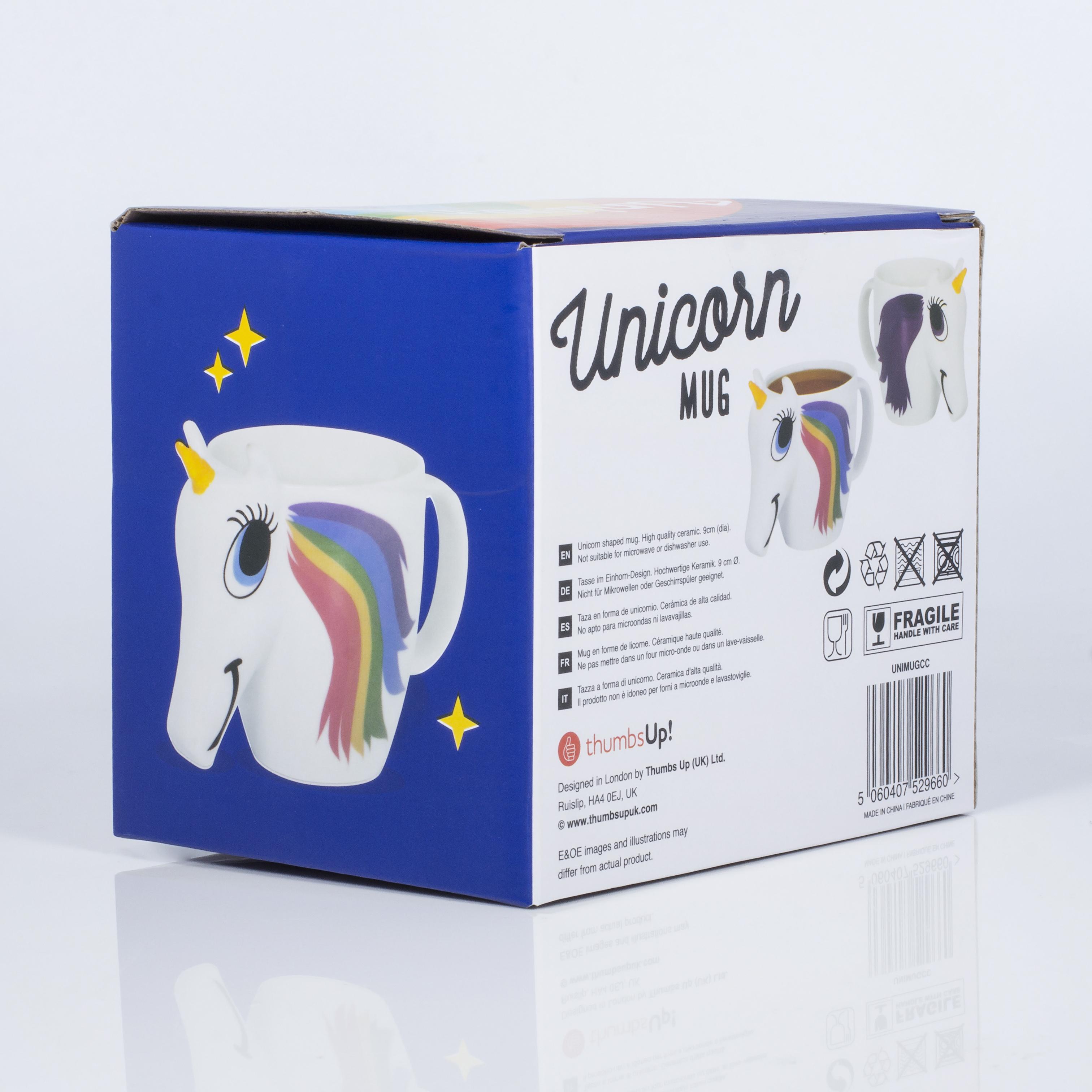 Thumbs Up UNIMUGCC - Eins/Eine(r) - 0,3 l - Mehrfarbig - Keramik - Universal - 1 Stück(e)