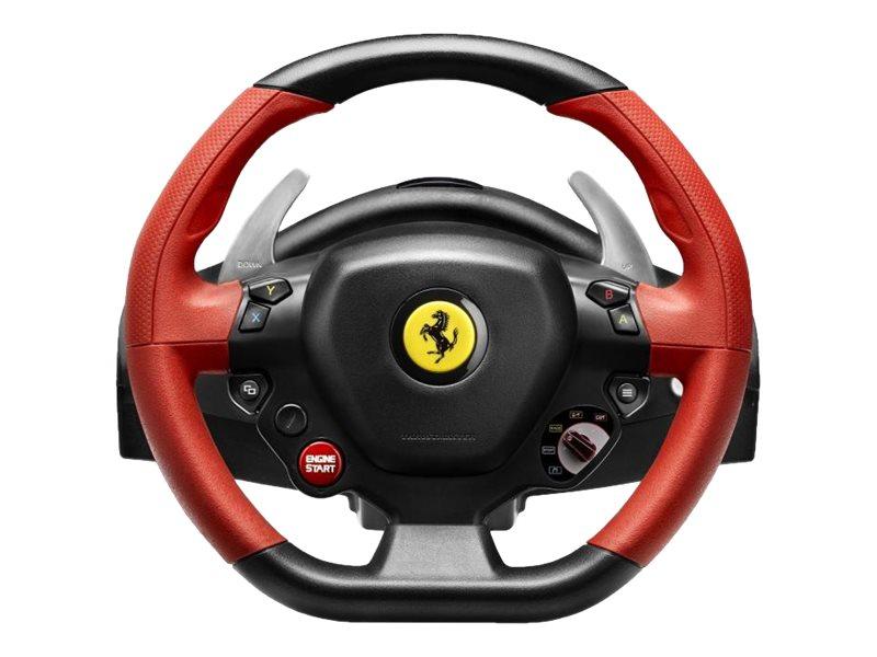 ThrustMaster Ferrari 458 Spider - Lenkrad- und Pedale-Set