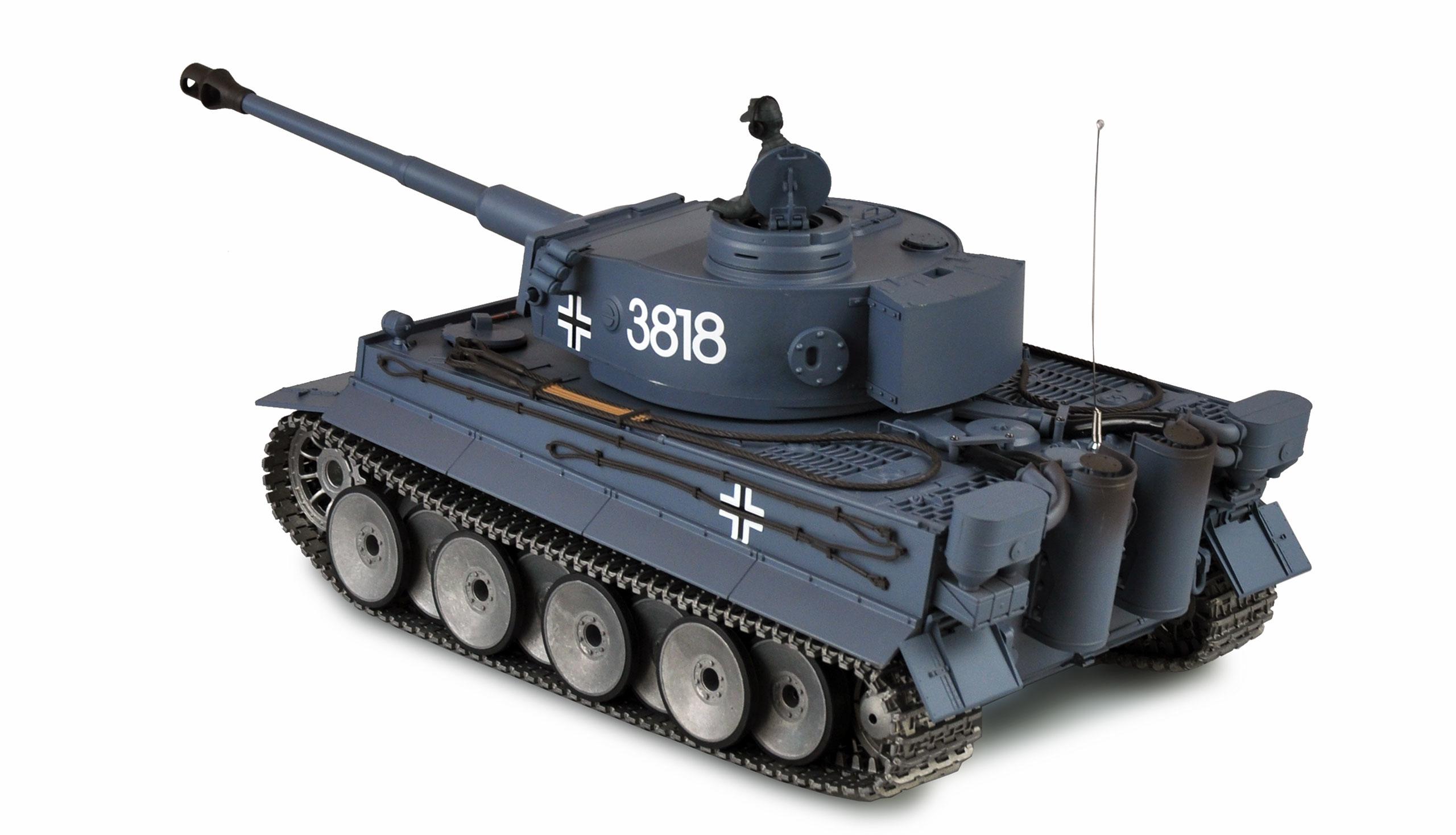 Amewi Tiger I - Funkgesteuerter (RC) Panzer - Elektromotor - 1:16 - Betriebsbereit (RTR) - Junge - 14 Jahr(e)