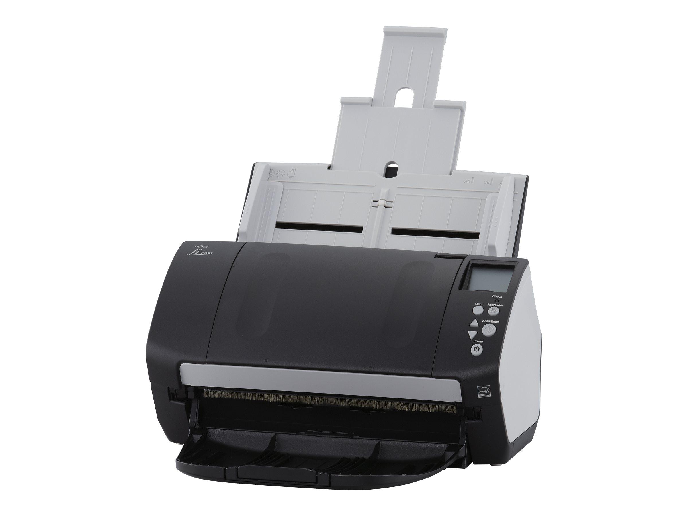 Fujitsu fi-7160 - Dokumentenscanner - Dual CCD - Duplex - 216 x 355.6 mm - 600 dpi x 600 dpi - bis zu 60 Seiten/Min. (einfarbig)
