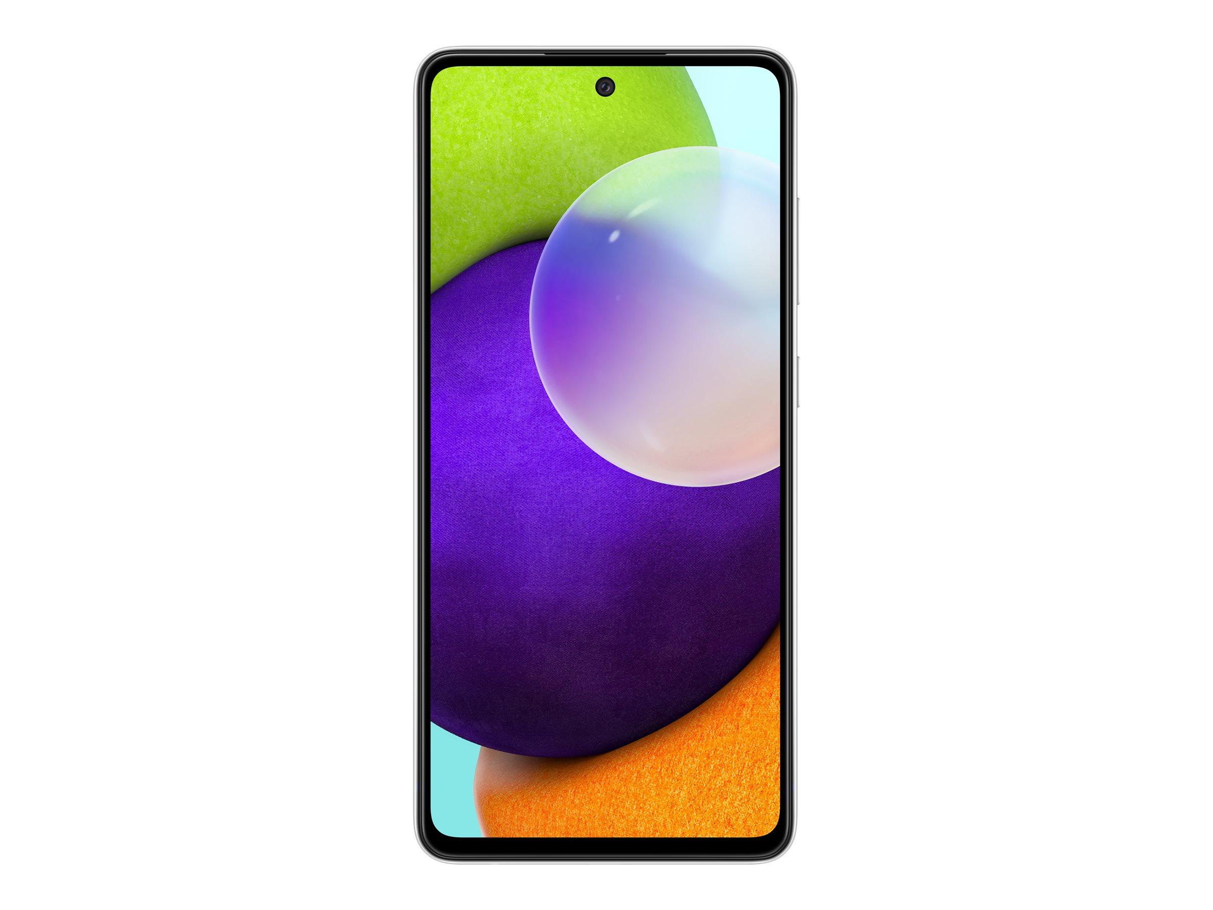 "Vorschau: Samsung Galaxy A52 - Smartphone - Dual-SIM - 4G LTE - 128 GB - microSD slot - 6.5"" - 2400 x 1080 Pixel - Super AMOLED - RAM 6 GB (32 MP Vorderkamera)"