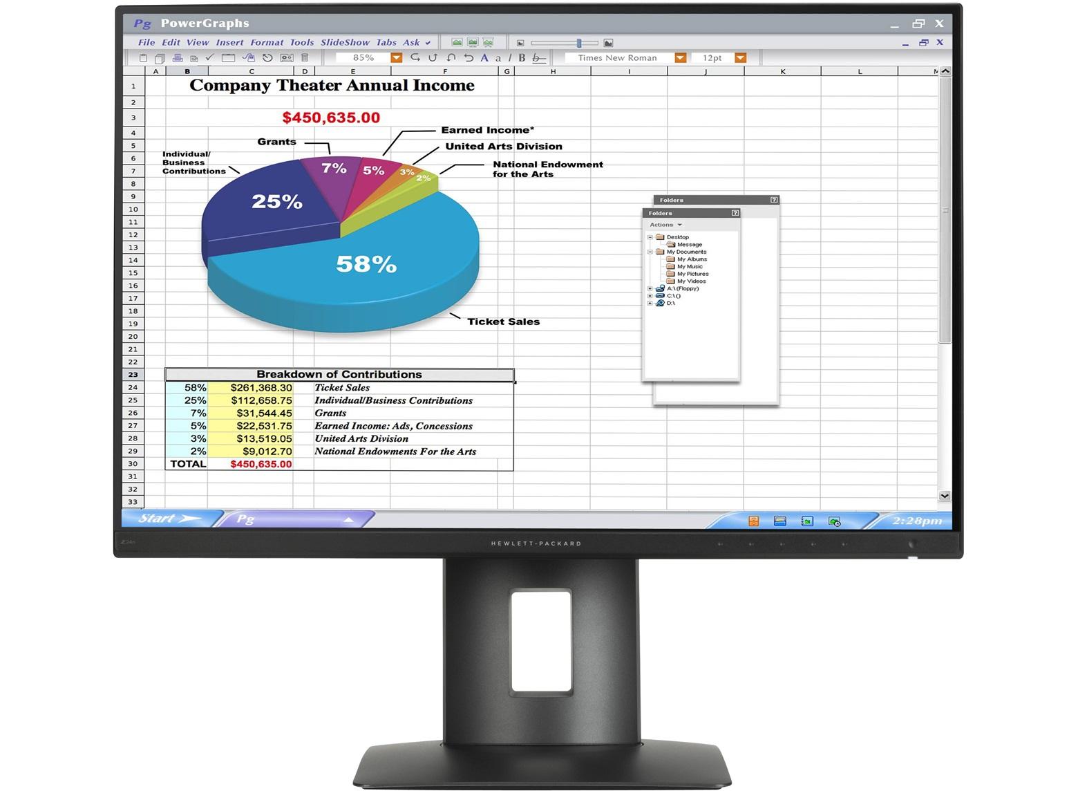 HP Z24n - LED-Monitor - 61.13cm/24
