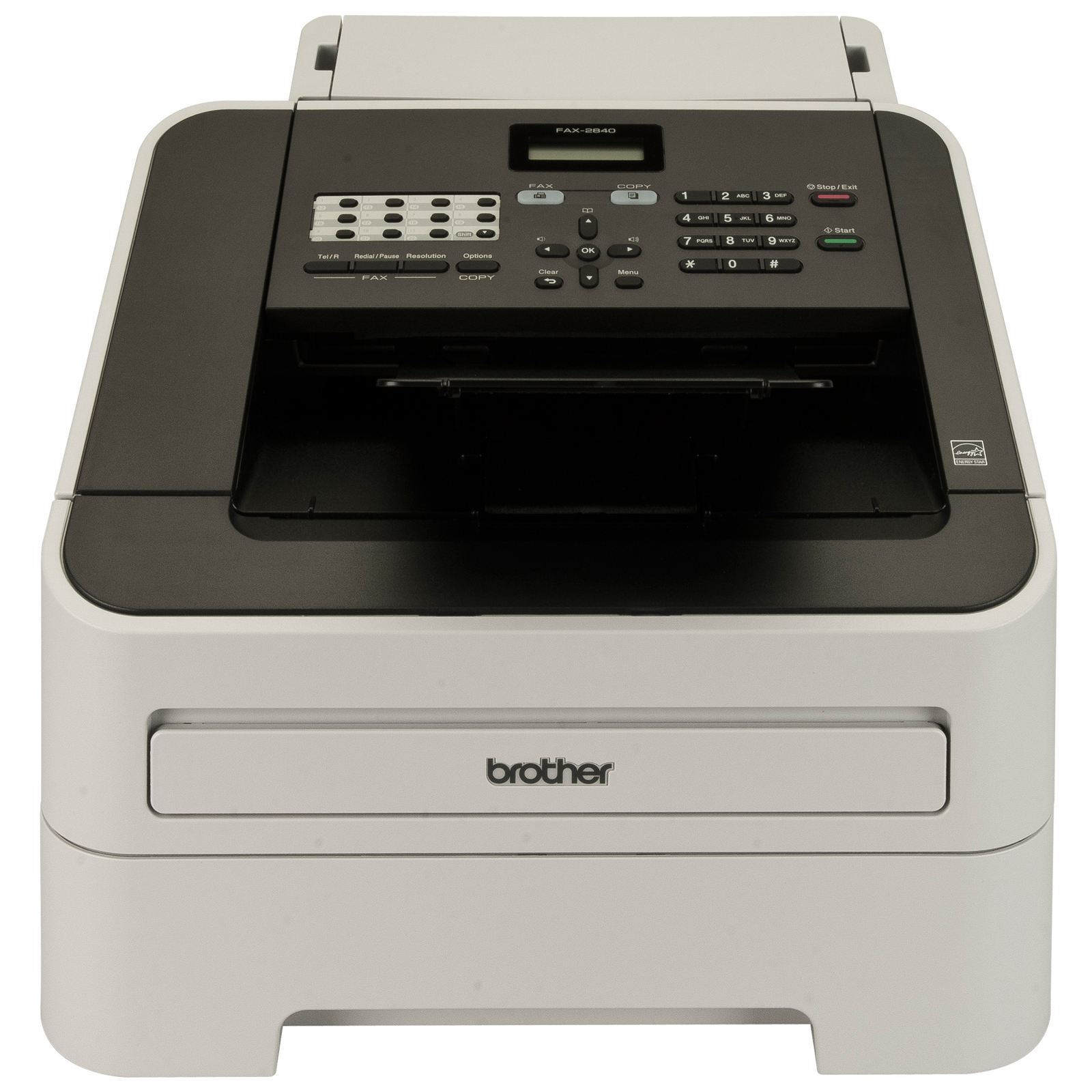Brother fax-2840 LASERFAX 33600 BPS - Fax - Laser/LED-Druck