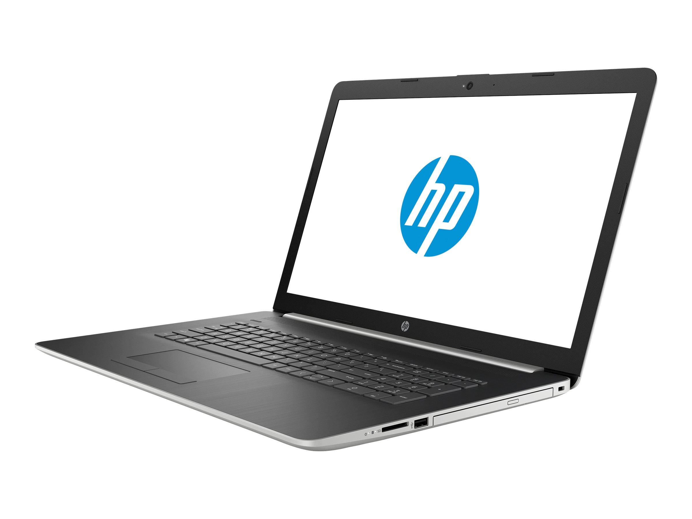 HP 17-ca0013ng Silber Notebook 43,9 cm (17.3 Zoll) 1920 x 1080 Pixel 2 GHz AMD Ryzen 5 2500U