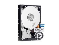 WD Caviar AV-GP WD10EURX 3,5 SATA 1.000 GB - Festplatte - 5.400 rpm 12 ms - Intern