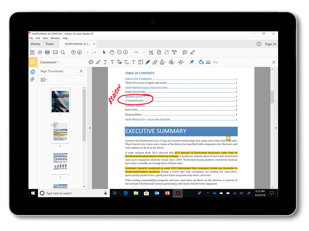 Microsoft Surface Go - 25,4 cm (10 Zoll) - 1800 x 1200 Pixel - 64 GB - 4 GB - Windows 10 Pro - Silber