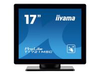 ProLite T1721MSC-B1 Touchscreen-Monitor 43,2 cm (17 Zoll) 1280 x 1024 Pixel Schwarz Multi-touch Tisch