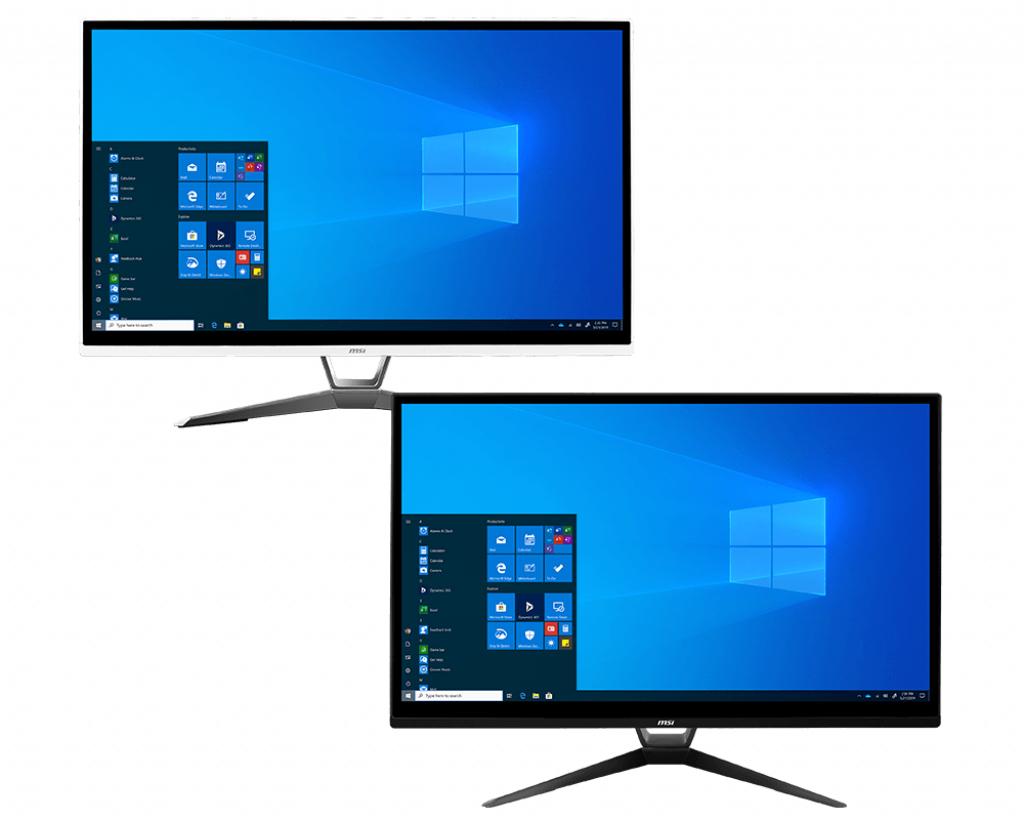 "MSI Pro 22XT 10M 020DE - All-in-One (Komplettlösung) - Core i3 10100 / 3.6 GHz - RAM 8 GB - SSD 256 GB - NVMe - UHD Graphics 630 - GigE - WLAN: Bluetooth, 802.11a/b/g/n/ac - Win 10 Pro - Monitor: LED 54.6 cm (21.5"")"