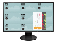 FlexScan EV2451 23.8Zoll Full HD IPS Schwarz Computerbildschirm