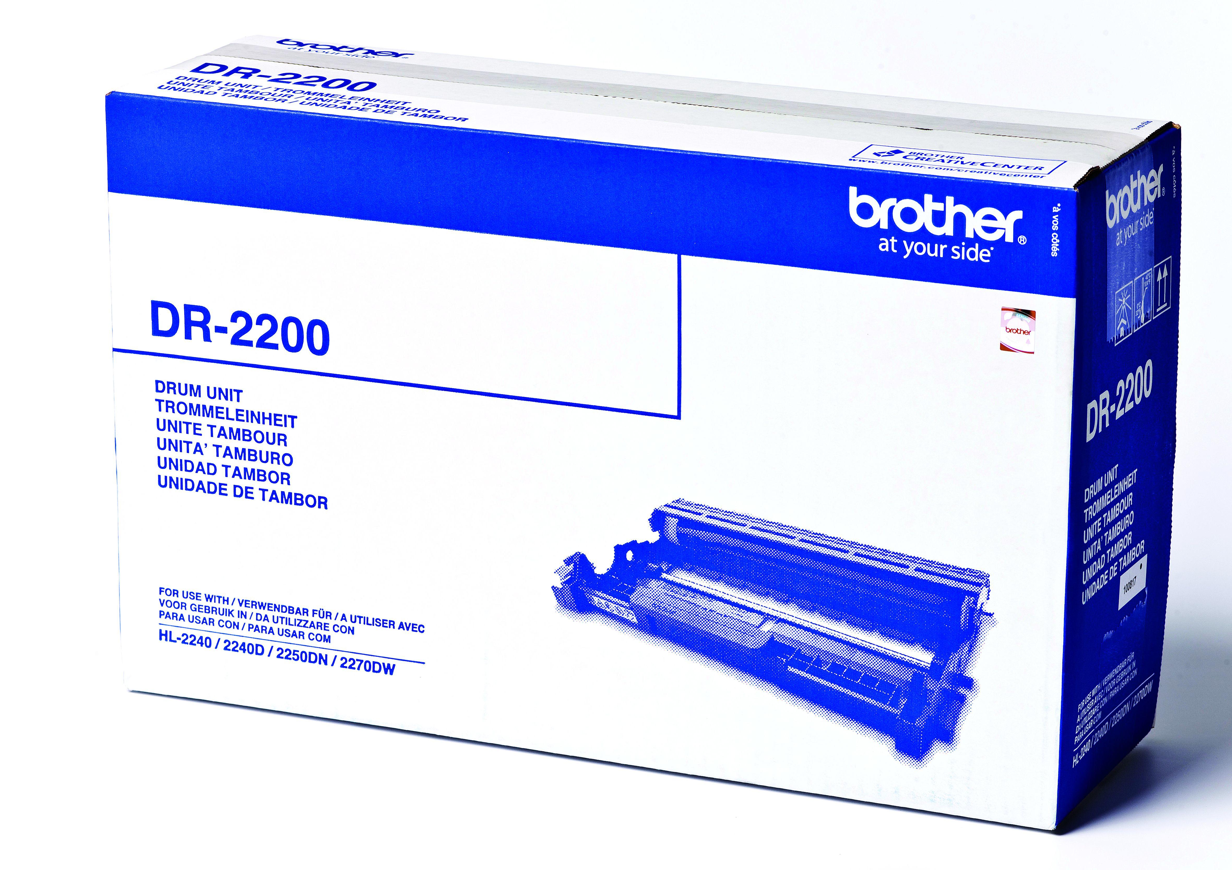 Brother DR2200 - Original - Trommeleinheit - für Brother DCP-7055
