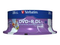43667 DVD-Rohling 8,5 GB DVD+R DL 25 Stück(e)