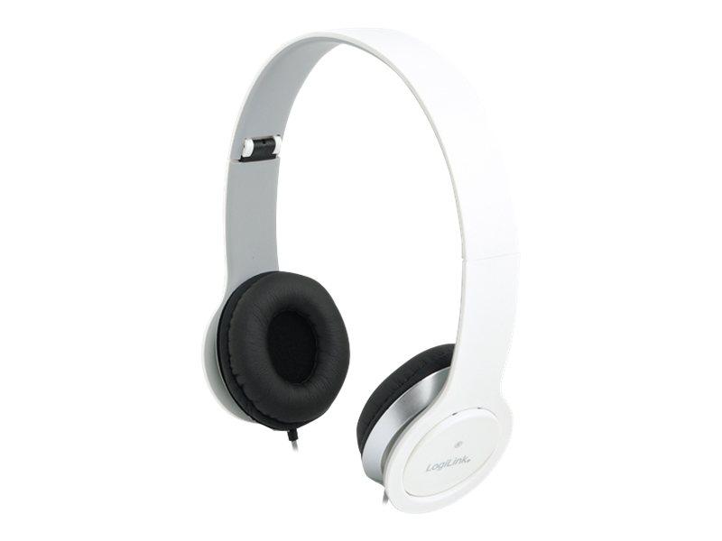 LogiLink - Stereo High Quality Headset - ohrumschließend - kabelgebunden