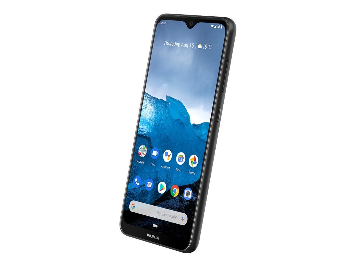 "Nokia 6.2 - Android One - Smartphone - Dual-SIM - 4G LTE - 64 GB - microSDXC slot - GSM - 6.3"" - PureDisplay - RAM 4 GB - (8 MP Vorderkamera)"