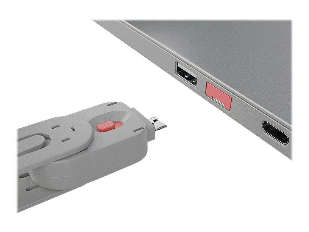 Lindy USB Type A Port Blocker Key - USB-Portblocker