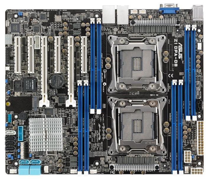 ASUS Z10PA-D8 Intel C612 LGA 2011-v3 ATX Server-/Workstation-Motherboard