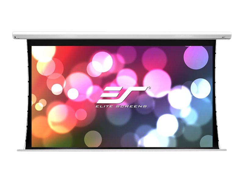 Elite Screens Saker Tab-Tension Series SKT135XHW-E6 - Leinwand - Deckenmontage möglich, geeignet für Wandmontage - motorisiert - 110 V - 343 cm (135 Zoll)
