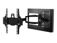 HA746-STB Flachbildschirm-Wandhalterung 139,7 cm (55 Zoll) Schwarz