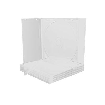 MEDIARANGE BOX23-T - Schmuckschatulle - 1 Disks - Transparent - Kunststoff - 120 mm - 140 mm