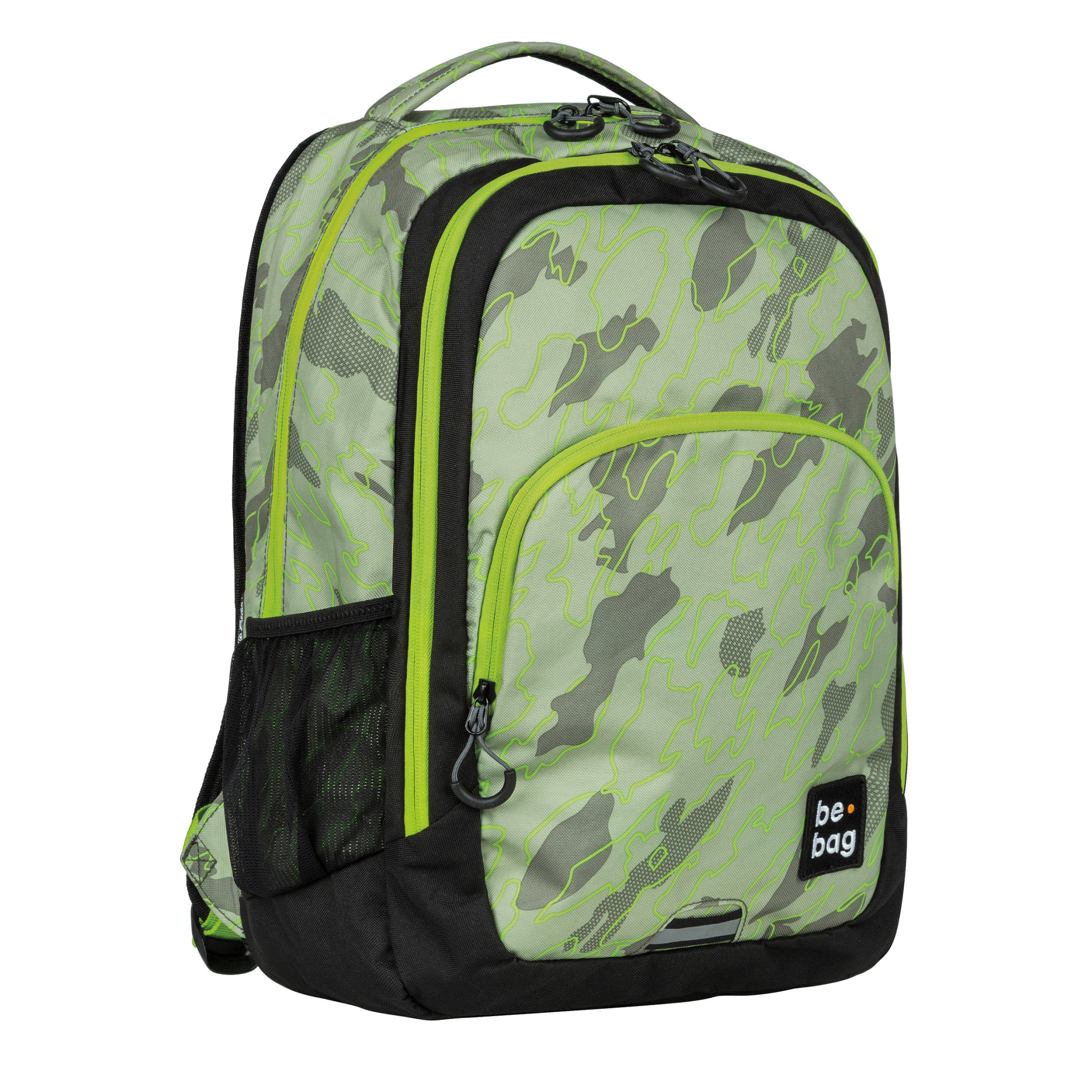 Be.bag Herlitz be.bag be.ready - Junge/Mädchen - School backpack - Weiterführende Schule - Camouflage - Polyester - Muster