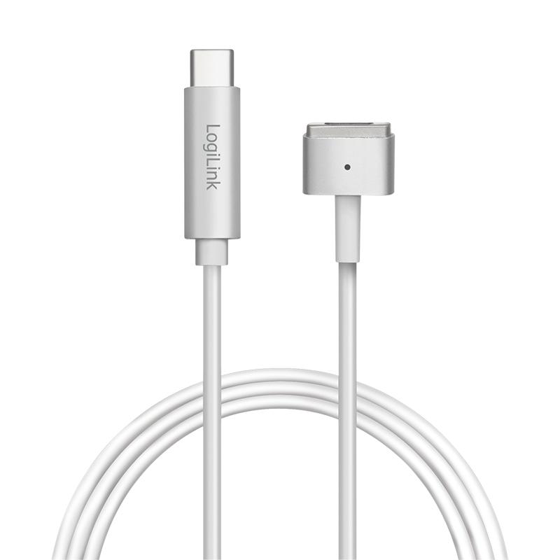 LogiLink USB-Kabel - USB-C (M) bis MagSafe 2 (M)